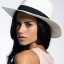 หมวกปานามาปีกกว้าง หมวกสาน หมวกปานามาสีครีมคาดน้ำตาล พร้อมส่งค่ะ thumbnail 2