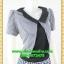 2749เสื้อผ้าคนอ้วน ชุดทำงานคอกลมสีดำแต่งกั๊กลายตารางสไตล์เกาหลีสวมใส่ทำงานน่ารักสะดุดตาให้เลือกสวมใส่ทำงาน thumbnail 2