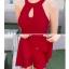 ชุดว่ายน้ำ วันพีชขนาด xl สีแดง รอบอก 32-38 รอบเอว 26-32 สะโพก 36-42 นิ้วค่ะ ชุดยาว 30 นิ้วค่ะ ผ้าดี งานหรูค่ะ thumbnail 3
