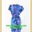 1909เสื้อผ้าคนอ้วน ชุดทำงานจับเดรฟกระโปรงสวยสะดุดตาสไตล์ออกงาน คอวีป้ายสีม่วงลาเวนเดอร์สุดหรู thumbnail 4