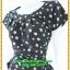 2944เสื้อผ้าคนอ้วน ชุดทำงานสไตล์แขนล้ำสวยมั่นใจแบบสาวอวบโมเดิร์นล้ำ สีดำลายจุดเล็กสุดคลาสสิคได้ทุกงาน thumbnail 3