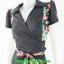 2832ชุดเสื้อผ้าคนอ้วน ชุดทำงานลายกราฟฟิคผ้าไหมอิตาลี่สไตล์เปรี้ยวหรูไฮโซชุดป้ายสำเร็จเก็บทรงเนี๊ยบสุด thumbnail 3