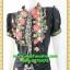 2904เสื้อผ้าคนอ้วน เสื้อผ้าแฟชั่นคอจีนลายเชิงผ้าไหมอิตาลี่ ระบายอกโค้งกระดุมหน้า โชว์ลวดลายการวางผ้าแต่งลายอย่างมีเอกลักษณ์มีซับใน thumbnail 3