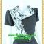 1583ชุดทํางาน เสื้อผ้าคนอ้วนปกฮาวายกุ๊นขอบปกแต่งหรูดูสุภาพในมาดเนี๊ยบเปรี้ยวมั่นใจในชุดเข้ารูปเน้นอกเอวสะโพกสวย thumbnail 2