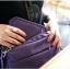 กระเป๋าสตางค์ใส่หนังสือเดินทาง พาสปอร์ต Passport Bag Travelus Purple สีม่วง thumbnail 3