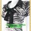 2289ชุดทํางาน เสื้อผ้าคนอ้วนคอปกแต่งโบใส่สบายผ้าเบาสบาย รูปทรงชุดหลวมคล่องตัว พร้อมซับใน thumbnail 3