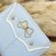 กระเป๋าสตางค์ผู้หญิงทรงสั้นซิป สีฟ้า thumbnail 9