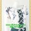 2321ชุดทํางาน เสื้อผ้าคนอ้วนลายตารางกราฟฟิคเล่นโบไขว้กากบาทด้านหน้าโดดเด่นด้วยคอปกจีบแยกผ้าvalentino thumbnail 2