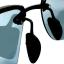 แว่นกันแดด โพลาไรซ์ กรอบไททาเนียม(ผสม) เลนส์ดำ thumbnail 4