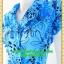 1558ชุดเดรสทำงาน เสื้อผ้าคนอ้วนปกเทเลอร์ใหญ่กระดุมหน้าลายดอกสีฟ้าสไตล์เนี๊ยบ ทรงสุภาพเป็นทางการสวมใส่ทำงาน thumbnail 3