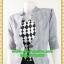 2692ชุดทํางาน เสื้อผ้าคนอ้วนแจ๊คเก็ตเทาคลุมด้านนอกคล้ายสวมทับเกาะอกด้านในสไตล์สาวมั่นใจ คล่องตัว thumbnail 3