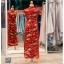 รหัส ชุดกี่เพ้า : KPL046 ชุดกี่เพ้าประยุกต์สำหรับเป็นชุดกี่เพ้าแต่งงานสวยๆ พร้อมส่ง แบบยาว ลายดอกไม้ ใส่เป็นชุดพิธียกน้ำชา ชุดส่งตัวเจ้าสาว ชุดถ่ายพรีเวดดิ้งหรือชุดแต่งงานตามธรรมเนียมจีนโบราณสวยหรู สง่า คุณภาพระดับห้องเสื้อ thumbnail 2