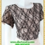 2831เสื้อผ้าคนอ้วน ชุดทํางานคอกลมเข้ารูปสไตล์workingเบรคอกด้วยลายลูกไม้ที่ปรับสรีระและเพิ่มความมั่นใจ ภูมิฐาน น่าเชื่อถือ thumbnail 2