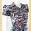 1936ชุดทํางาน เสื้อผ้าคนอ้วนลายวินเทจคละสีปกเชิ๊ตกระดุมหน้าด้วยรูปเรียบง่ายสไตล์สปอร์ตเนื้อผ้าวาเลนติโน่ thumbnail 2