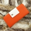 กระเป๋าสตางค์ผู้หญิง ทรงยาว รุ่น Cheer Orange/White thumbnail 1