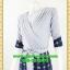 2642เสื้อผ้าคนอ้วน ชุดทำงานชุดกระโปรงคอวีตีเกล็ดไขว้กระโปรงแยกย้วย6ชิ้น แขนยาวทรงสุภาพสวมใส่ทำงานสไตล์สาวอกอวบใหญ่ thumbnail 3