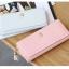 กระเป๋าสตางค์ผู้หญิง ทรงยาว รุ่น Prettyzys SQ Light Pink สีชมพูอ่อน thumbnail 11