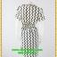 2984ชุดเดรสทำงาน เสื้อผ้าคนอ้วนลายเวฟ แต่งกุ๊นทรงเพิ่มเชฟคอจีบทวิสต์ระบายผูกโบข้าง เรียบง่ายดูภูมิฐานมีซับในพรางรูปร่างด้ายลายที่คลาสสิคใส่ได้หลายโอกาส thumbnail 4