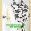 2782เสื้อผ้าคนอ้วน เสื้อผ้าแฟชั่นคอจีนลายเชิงผ้าไหมอิตาลี่ ระบายอกโค้งกระดุมหน้า โชว์ลวดลายการวางผ้าแต่งลายอย่างมีเอกลักษณ์มีซับใน thumbnail 2