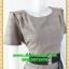 1836ชุดเดรสทำงาน เสื้อผ้าคนอ้วน ทูโทนสีน้ำตาลต่อชายใต้เอวสไตล์เนี๊ยบเรียบหรูโดดเด่นด้วยลายที่พรางรูปร่างอย่างมั่นใจ thumbnail 2