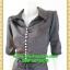 1981ชุดทํางาน เสื้อผ้าคนอ้วนกระดุมมุกเรียงแถวด้านหน้าชุดแขนยาวกระโปรงทรงเอหวานๆมีปกสุภาพเรียบร้อยสไตล์คลาสสิค thumbnail 3