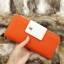 กระเป๋าสตางค์ผู้หญิง ทรงยาว รุ่น Cheer Orange/White thumbnail 11