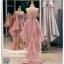 รหัส ชุดราตรีสั้น : PF013 ชุดราตรียาว เดรสออกงาน ชุดไปงานแต่งงาน ชุดแซก สีชมพูกลีบบัว หน้าสั้นหลังยาวสวยๆ หมาะสำหรับงานแต่งงาน งานกลางคืน กาล่าดินเนอร์ thumbnail 2