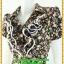 2884เสื้อผ้าคนอ้วน ชุดทำงานคอพวงระบาย ชุดแต่งโปรงจีบรอบเอวลายดอกไทยๆสไตล์หวานน่ารักแขนตุ๊กตาเดินกุ๊นขาวเพิ่มความสะดุดตาเบรคลายอย่างลงตัว thumbnail 3