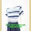 2724ชุดเดรสทำงาน เสื้อผ้าคนอ้วน ลายดอกเล่นเชิงคอกลมกระโปรงจีบทวิสต์เสริมระบายช่วงล่าง เพิ่มความหวานสไตล์เบบี้ thumbnail 3