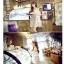 ชุดเดรสแฟชั่นกึ่งเสื้อ ผ้าชีฟองสวยหวานสไตล์เกาหลี มี 2 สี(ดำ/ขาว)-1033 thumbnail 4