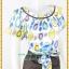 3156ชุดทํางาน เสื้อผ้าคนอ้วนลายกราฟฟิคทันสมัยคอจีบทวิสต์กุ๊นดำสไตล์แอคทีฟ ผู้ดี เรียบร้อยสวยสง่า thumbnail 2