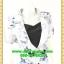 2674ชุดทํางาน เสื้อผ้าคนอ้วนผ้าลายดอกไทยวินเทจ เสื้อนอกคลุมมีชุดด้านในเย็บติดเข้ารูปร่างเอวมีสัดส่วนทรวดทรงโฉบเฉี่ยวมั่นใจแบบสไตล์สาวทำงานกระโปรงทรงสอบมีซับใน thumbnail 2