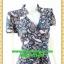 2657ชุดเสื้อผ้าคนอ้วน ชุดทำงานลายไทยวินเทจสไตล์เปรี้ยวหรูไฮโซชุดคอจีนป้ายสำเร็จเก็บทรงเนี๊ยบสุด พร้อมโบคาดเอว thumbnail 2