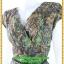 2970เสื้อผ้าคนอ้วน เสื้อผ้าแฟชั่นผ้าเมมเบิร์ดหรูมั่นใจสไตล์เรียบตีเกล็ดไขว์กลางอกยาวพาดด้านหน้าพรางรูปร่างเรียวบาง เกล็ด4ชั้นซ้ายขวาหรูมีระดับ แขนล้ำผ้าลายสบายรับสงกรานต์ thumbnail 3