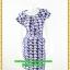 2986เสื้อผ้าคนอ้วน ชุดทำงานลายหมวกสไตล์แขนล้ำสวยมั่นใจแบบสาวอวบโมเดิร์นล้ำ ลายหมวกสุดคลาสสิคได้ทุกงาน thumbnail 1