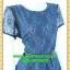 2521ชุดทํางาน เสื้อผ้าคนอ้วนชุดคอกลมเข้ารูปสไตล์workingเบรคอกด้วยลายลูกไม้ที่ปรับสรีระและเพิ่มความมั่นใจ ภูมิฐาน น่าเชื่อถือ thumbnail 2