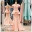 รหัส ชุดราตรียาว :PF048 ชุดราตรียาว เดรสออกงาน ชุดไปงานแต่งงาน ชุดแซก สีชมพู เปิดไหล่สวยเก๋มากๆ เหมาะสำหรับงานแต่งงาน งานกลางคืน กาล่าดินเนอร์ thumbnail 1