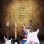 กีต้าร์ไฟฟ้า ลายธงชาติอังกฤษ คอนก thumbnail 1