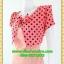 1979ชุดทํางาน เสื้อผ้าคนอ้วนคอกลมสีลาเวนเดอร์แต่งกั๊กลายรุ้งสไตล์เกาหลีสวมใส่ทำงานน่ารักสะดุดตา thumbnail 3