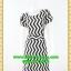 2766ชุดเดรสทำงาน เสื้อผ้าคนอ้วนชุดผ้าItaly Silk100%คอกลมแขนกลีบบัวลายเวฟเข้ารูปทรงตรงสไตล์ผู้ดีเนี๊ยบ thumbnail 1