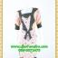 2728ชุดทํางาน เสื้อผ้าคนอ้วนสีชมพูลายวินเทจตัดต่อผ้าลายคั่นด้วยแถบดำ แขนยาว สไตล์เนี๊ยบสุดหรูมีรสนิยมเลือกชุดทำงาน thumbnail 1