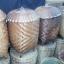 กระบุงไม้ไผ่สาน ไว้ใส่ของ ประดับตกแต่งและอื่นๆ thumbnail 4