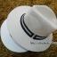 หมวกปานามาปีกกว้าง สีน้ำตาลอ่อน,หมวกทรงปานามา หมวกคาวบอย ปีกกว้าง 6.5 ซม รอบศรีษะ 59 ซม. **สินค้าพร้อมส่งค่ะ*** thumbnail 2