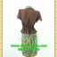 1933ชุดแซกทำงาน เสื้อผ้าคนอ้วนปกกล้วยหอมแทรกชิ้นลอยหว่างอก ตัดต่อลายบริเวณตัวเสื้อสไตล์เรียบง่ายไม่หวือหวาเน้นปรับสรีระบอดี้ให้ผู้สวมใส่ thumbnail 4