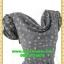2701เสื้อผ้าคนอ้วน ชุดทำงานคอถ่วงลายกุหลาบแซมสลับดำลายกราฟฟิคในเนื้อผ้าพริ้วทิ้งตัวคอถ่วงแขนจีบไหล่ย่นด้านข้าง thumbnail 2