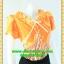 1757ชุดแซกทำงาน เสื้อผ้าคนอ้วน ชุดลายผ้าอินโดเนื้อนิ่มใส่สบายคอจีบระบายรอบกระดุมเกี่ยวมุกด้านหน้าแต่งโบผูกเก๋ๆใต้คอสไตล์สาวหวานเรียบร้อย thumbnail 2
