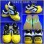 Pre-order รองเท้าแบดมินตัน YONEX รุ่น SHB-46C สีเหลืองดำ thumbnail 4