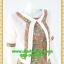 2746เสื้อผ้าคนอ้วน เสื้อผ้าแฟชั่นคอกลมตัวในมีตัวนอกคลุมทับลายกราฟฟิคสไตล์หวานเรียบร้อยสุภาพเป็นทางการ thumbnail 2