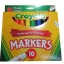Crayola 10ct Classic Broad Line Markers thumbnail 1