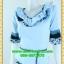 2549ชุดทํางาน เสื้อผ้าคนอ้วนผ้าเครปพิมพ์ลายข้างลำตัวโดดเด่นสะดุดตาแขนทรงระฆังคอกลมระบายรอบ สวมใส่สบายหรูหราอลังการเลือกใส่เป็นชุดออกงานเลิศหรู thumbnail 3